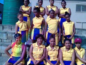 Damen Netball Mannschaft