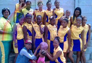 Netball Mannschaft der Mädchen