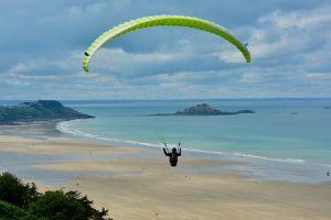 Paragliding direkt am Meer - Sedgefield - Südafrika